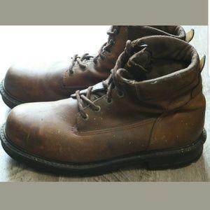 Wolverine Shoes - Wolverine Mens Boots Fusion Durashocks Steel Toe